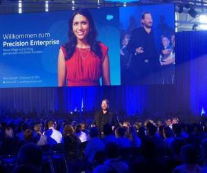 Salesforce CEO Marc Benioff bei Salesforce World Tour