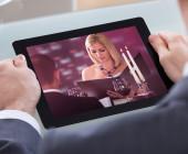 Video auf dem Tablet