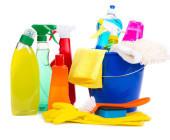 Utensilien zum Putzen