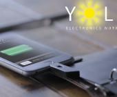 Solar Paper Solar-Ladegerät für Smartphones
