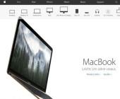 Website des Apple Stores