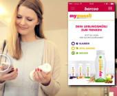Barcoo-App liest Beacon von Mymuesli.com