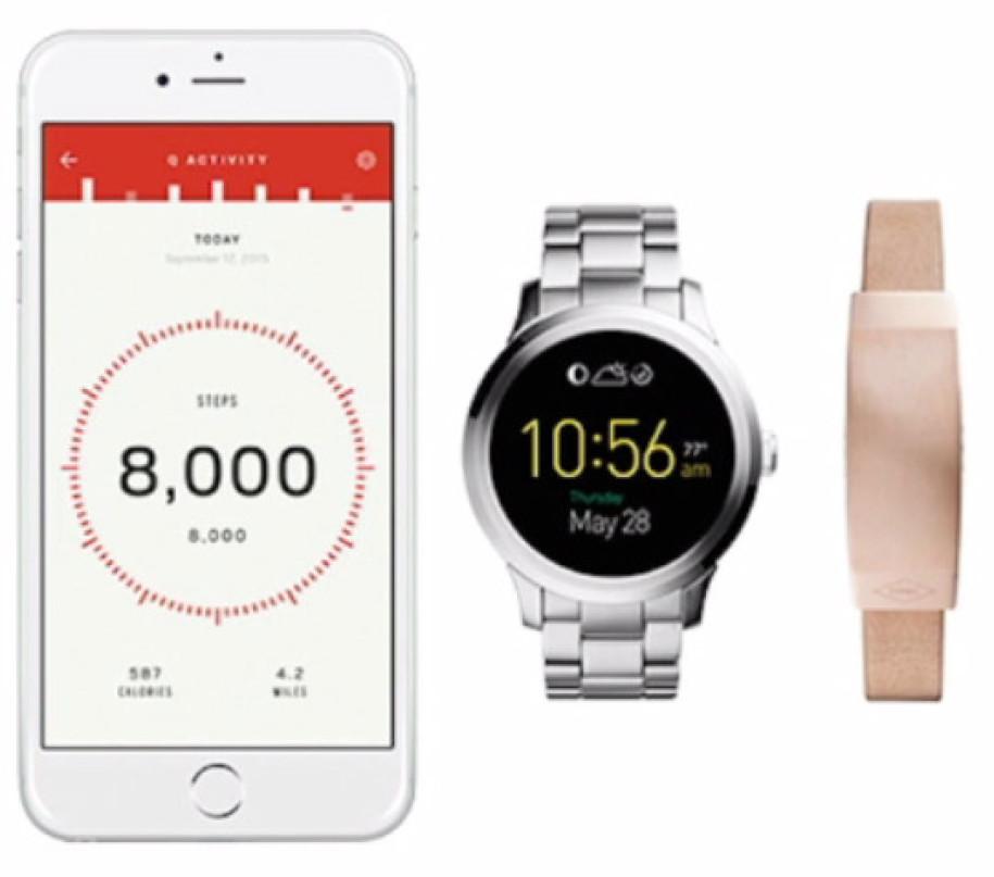 fossil zeigt smartwatch und tracker reihe q. Black Bedroom Furniture Sets. Home Design Ideas