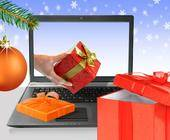 Online PC wünscht frohe Weihnachten