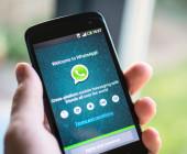 WhatsApp auf Smartphone