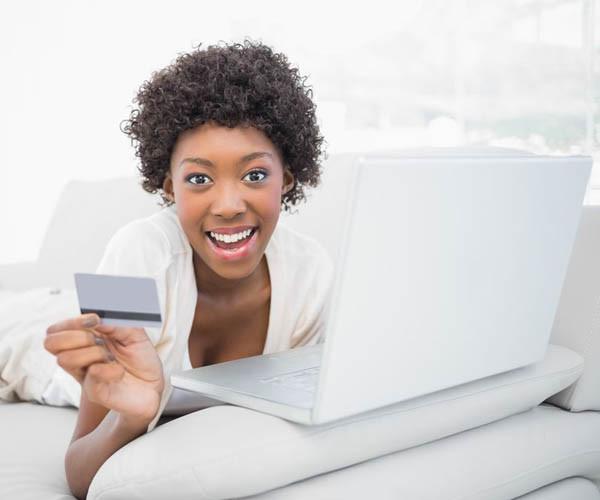 Frauen treffen kaufentscheidungen