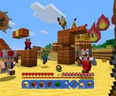 Minecraft und Super Mario bilden gemeinsam einen riesigen Spaß-Block