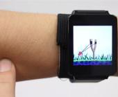 US-Forscher haben eine Smartwatch vorgestellt, die sich über die Berührung der Haut steuern lässt. Eine komplizierte Bedienung über zu kleine Displays gehört damit der Vergangenheit an.