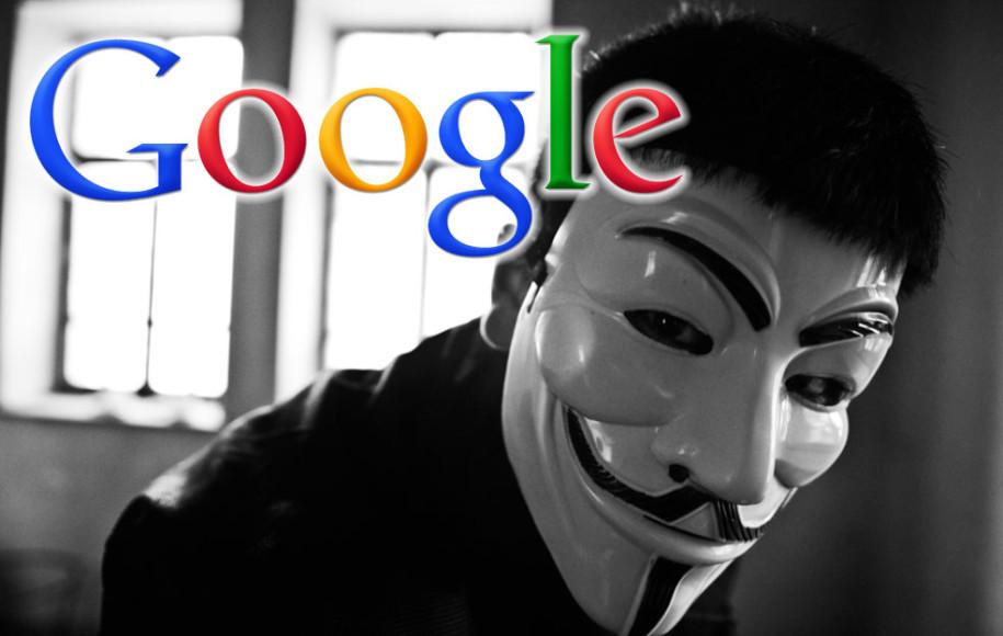 Anonym Googeln