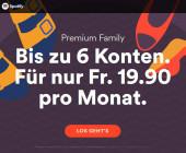 Spotify für die ganze Familie deutlich verbessert
