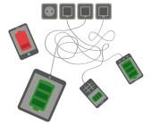 Heutige Smartphones haben vor allem ein Problem: Die mäßige Akkulaufzeit. Die Technik Pump Express 3.0 von Mediatek soll den Akku in nur rund 20 Minuten auf 70 Prozent laden.