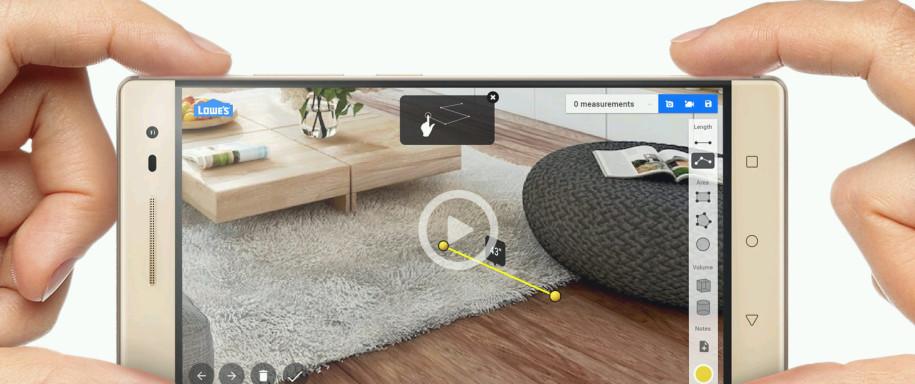 lenovo zeigt das erste tango phablet. Black Bedroom Furniture Sets. Home Design Ideas