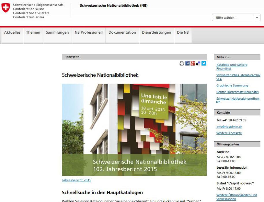 Nationalbibliothek meldet 12 Millionen Seiten online - onlinepc.ch