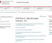 EDA beantwortet mit Helpline und FAQ Fragen zu Brexit-Folgen