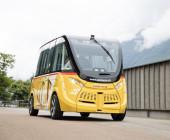 Öffentliche Tests der autonomen Postauto Shuttles laufen