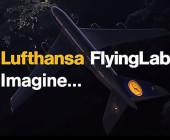 Lufthansa Flying Lab mit Flugzeug