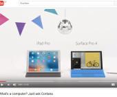 Microsoft macht sich über iPad Pro lustig