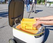 Post testet selbstfahrende Lieferroboter