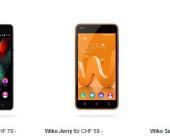 Wiko neu im Prepaid-Angebot bei Sunrise erhältlich