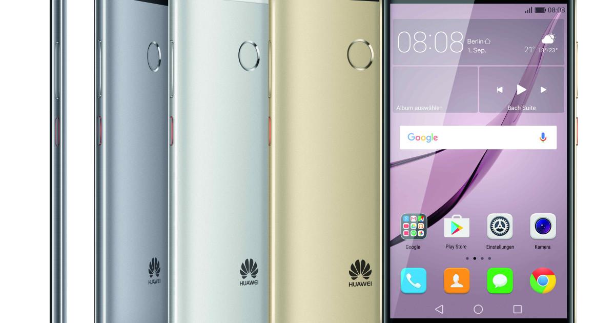 Huawei zeigt neue Mittelklasse-Serie Nova