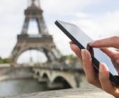 Mit dem Smartphone in Paris