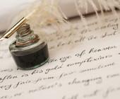 Federhalter Handschrift