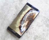 Verbranntes Samsung Note 7