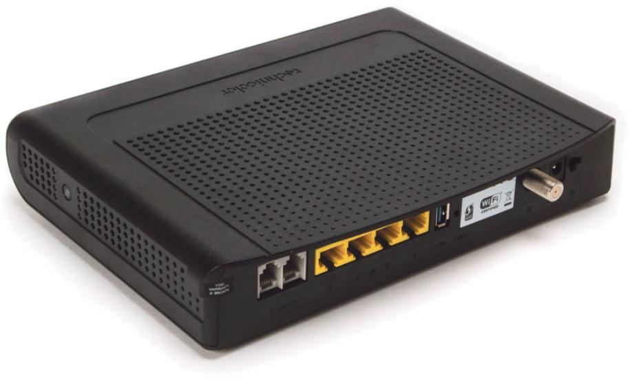 cablecom technicolor modem manual