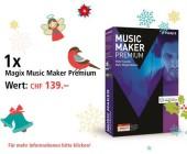 Am 2. Dezember Magix Musik Maker Premium gewinnen
