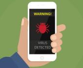 Virenscanner auf Smartphone