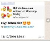 Fake-WhatsApp verspricht Emojis!