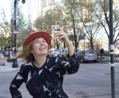 Virginia Salas Kastilio snappt in New York