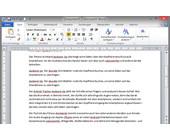Beim Speichern einer Word-Datei schreibt Microsofts Office-Programm auch persönliche Informationen und weitere Dokumenteneigeschaften in die Datei. Über die Dokumentenprüfung entfernen Sie diese.