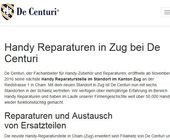 Neuer De Centuri Store im Kanton Zug