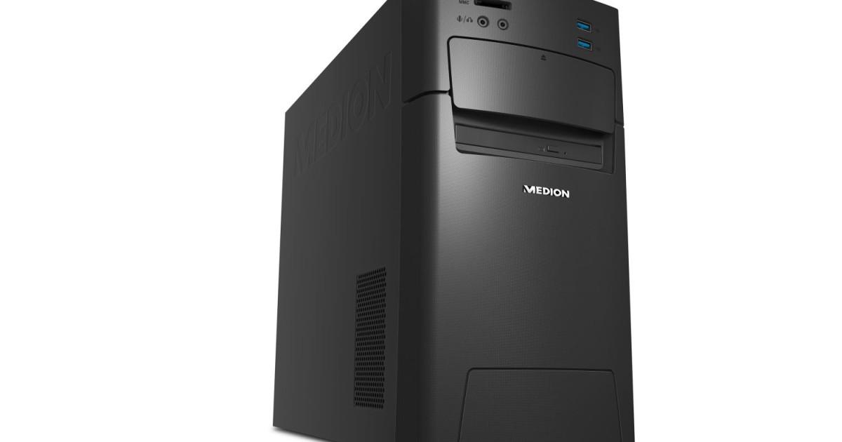 MEDION AKOYA P2150 D punktet mit 8 GB DDR4 Arbeitsspeicher und schneller SSD