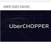 Uber-Heli am WEF war ein Flop