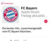 FC Bayern und Apple Music mit exklusiver Zusammenarbeit
