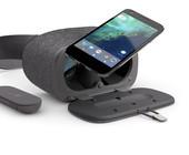 Smartphone mit VR-Brille