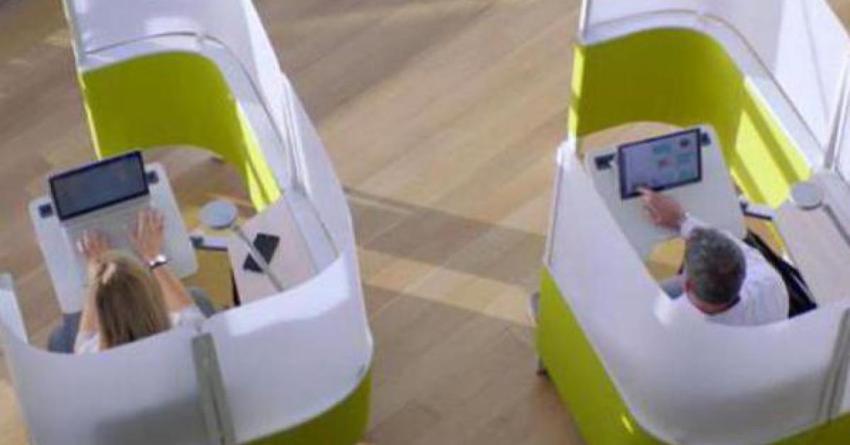 microsoft zeigt das b ro der zukunft. Black Bedroom Furniture Sets. Home Design Ideas