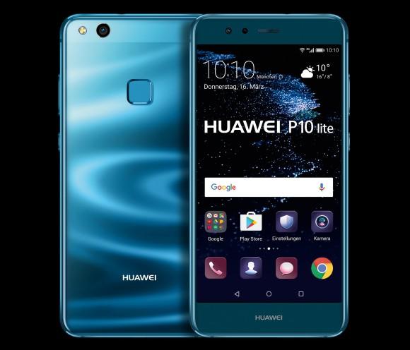 Huawei präsentiert das P10 lite