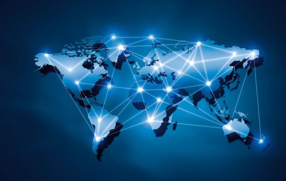 Globaler blick auf unternehmensdaten for Business netzwerk