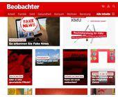 Beobachter bekommt neue Website und neue App mit ePaper