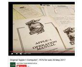 Alter 'Apple I' in Köln für 110 000 Euro versteigert