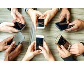 Weltweiter Smartpone-Verkauf nimmt zu.