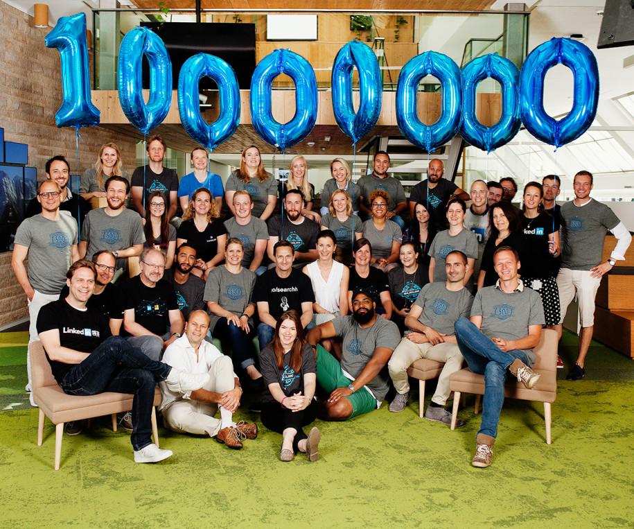 Linkedin knackt 10 Millionen im Raum DACH