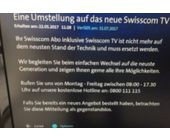 «Ihr Swisscom-TV-Abo ist nicht mehr auf dem neusten Stand der Technik»