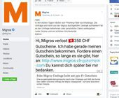 Nein, Migros verschenkt keine Gutscheine für 350 Franken
