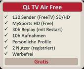 Quickline lanciert ein kostenloses nationales TV-Angebot