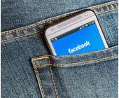 facebook smartphone hosentasche