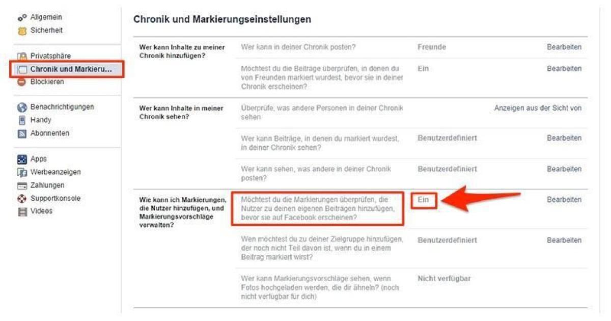 Facebook Jemand Markieren